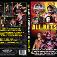 Wrestling: Gangrel Wrestling Asylum 2019 5 DVD Anthology Special Package Deal