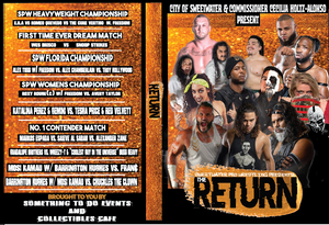 Sweetwater Pro Wrestling (SPW) Presents The Return DVD (Nov 2019 Show)