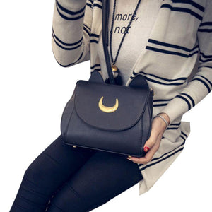 Moon Luna Handbag - Available In Black and White
