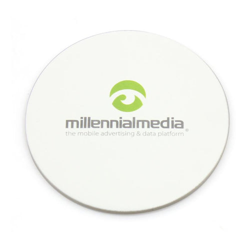 Round Absorbant Paper Coaster