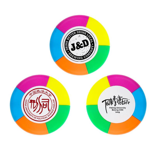 5-Colour Round Highlighter