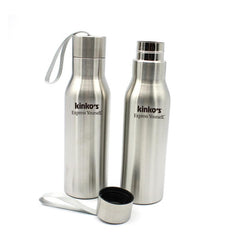 Stainless Steel Drinking Bottle With Screw Cap