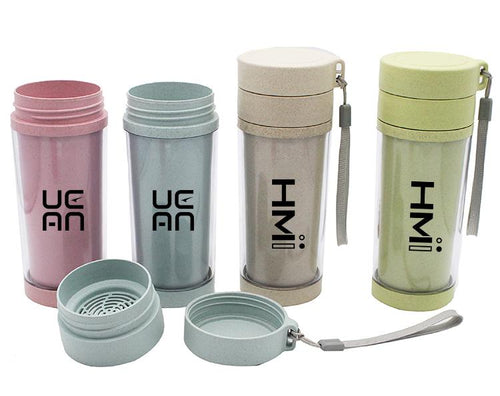 Portable Clear Insulated Tea Cup