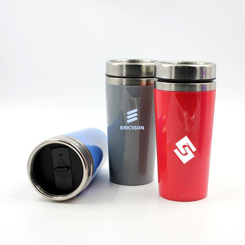 Insulated Drinking Bottle With Coloured Body