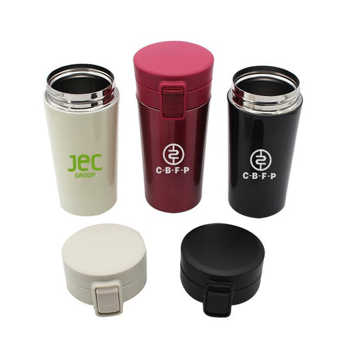Large Flip Cap Vacuum Insulated Bottle