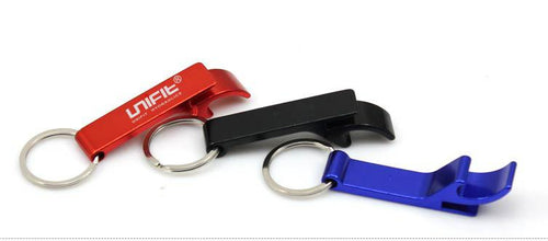 Bottle Opener And Lever Keychain