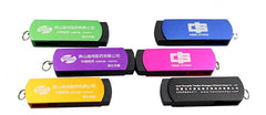 4GB Rotating USB Thumbdrive With Coloured Body