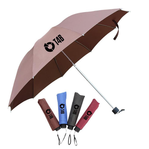 Collapsible 10K Three-Fold Umbrella