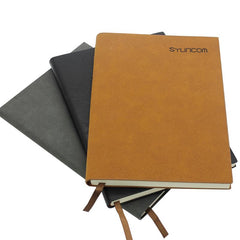 Notebook With Textured Pu Leather Cover