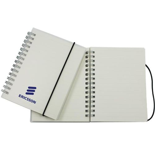 A6 Notebook With Clear Cover And Lined Pages