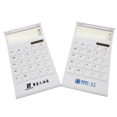 Office Calculator With White Buttons