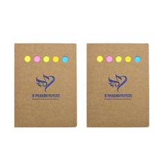 Large Notepad Set With Kraft Paper Cover