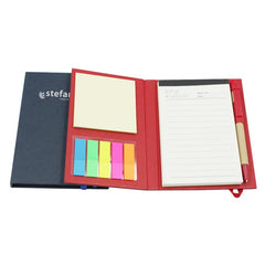 Notebook Set With Elastic Band Closure And Pet Sticky Flag Pads