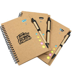 Multifunctional Notebook Set With Weekly Calendar