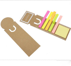 Sticky Notepad Set on Hanging Ruler