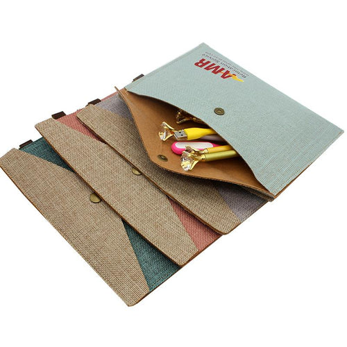 A5 Cotton Document Holder
