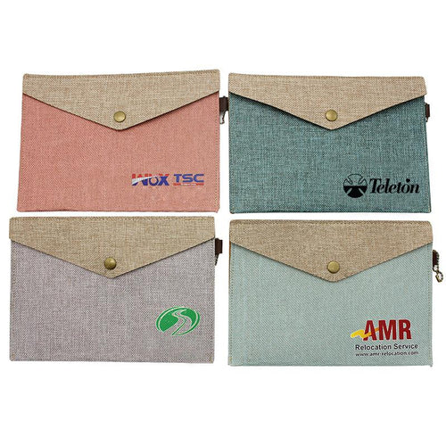A4 Cotton Document Holder
