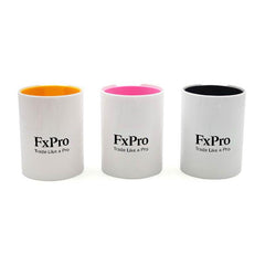 Dual-Coloured Round Business Pen Holder