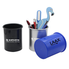 Round Plastic Pen Holder