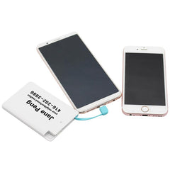 2500 Mah Card-Sized Power Bank