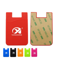 Self-Adhesive Silicon Card Holder