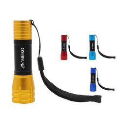 Mini Aluminium Torch Light with Telescopic Zoom