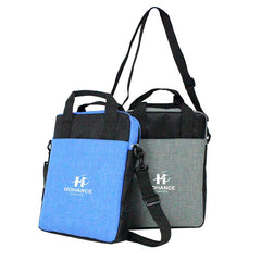 Office Document Bag With Carrying Handles And Shoulder Straps