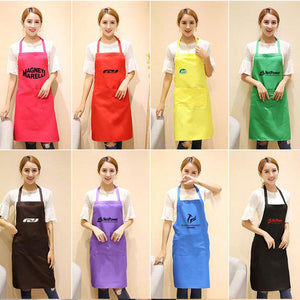 Neckband Apron With Front Pocket
