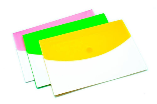 3 Compartment Expandable Plastic Folder (A4)