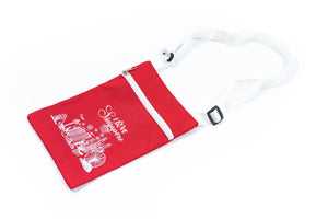 Fabric Sling Pouch with Singapore Design