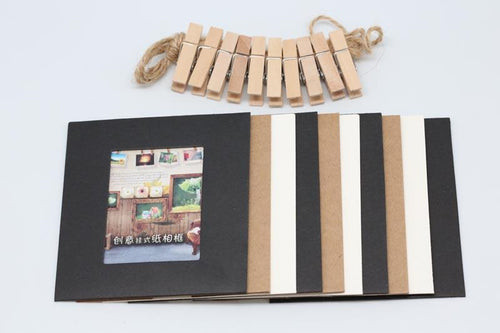10pc Cardboard Photo Frame