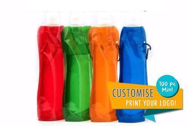Customized BPA Free Collapsible Water Bottle