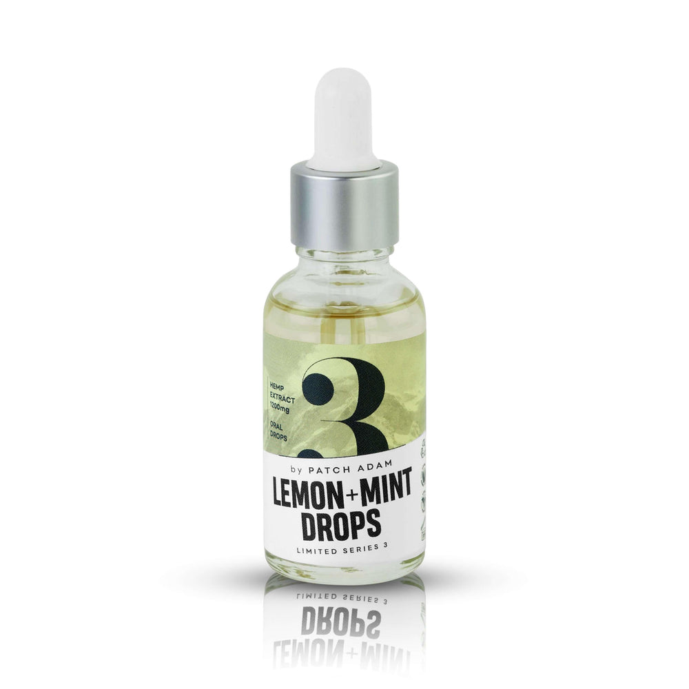 Lemon & Mint CBD Oral Drops