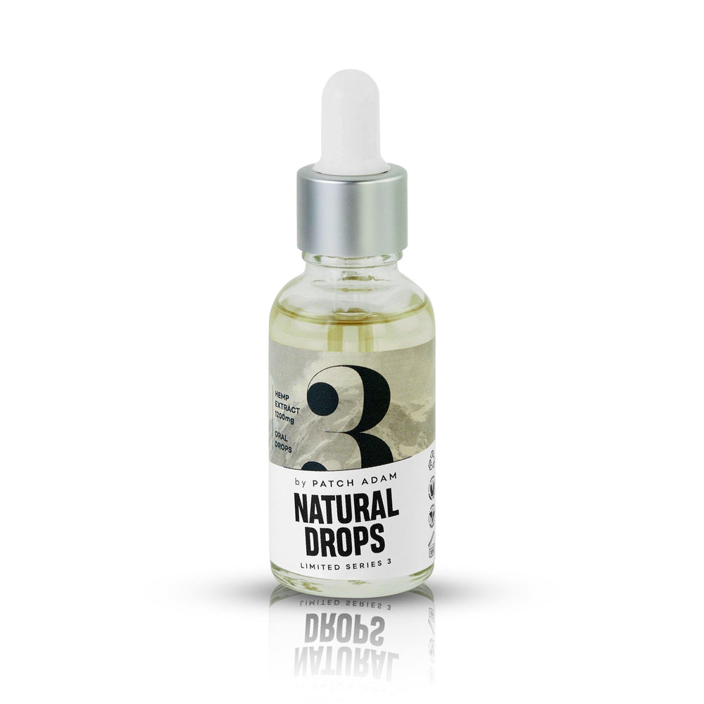 Natural CBD Oral Drops