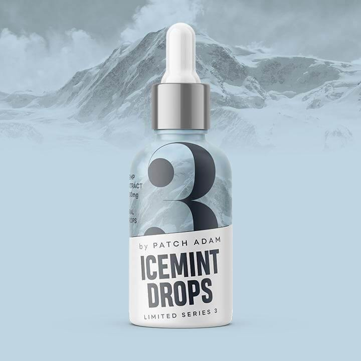 Ice Mint CBD Oil Drop