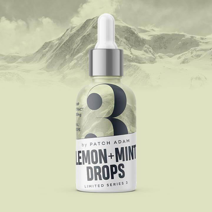 Lemon & Mint CBD Oil Drops