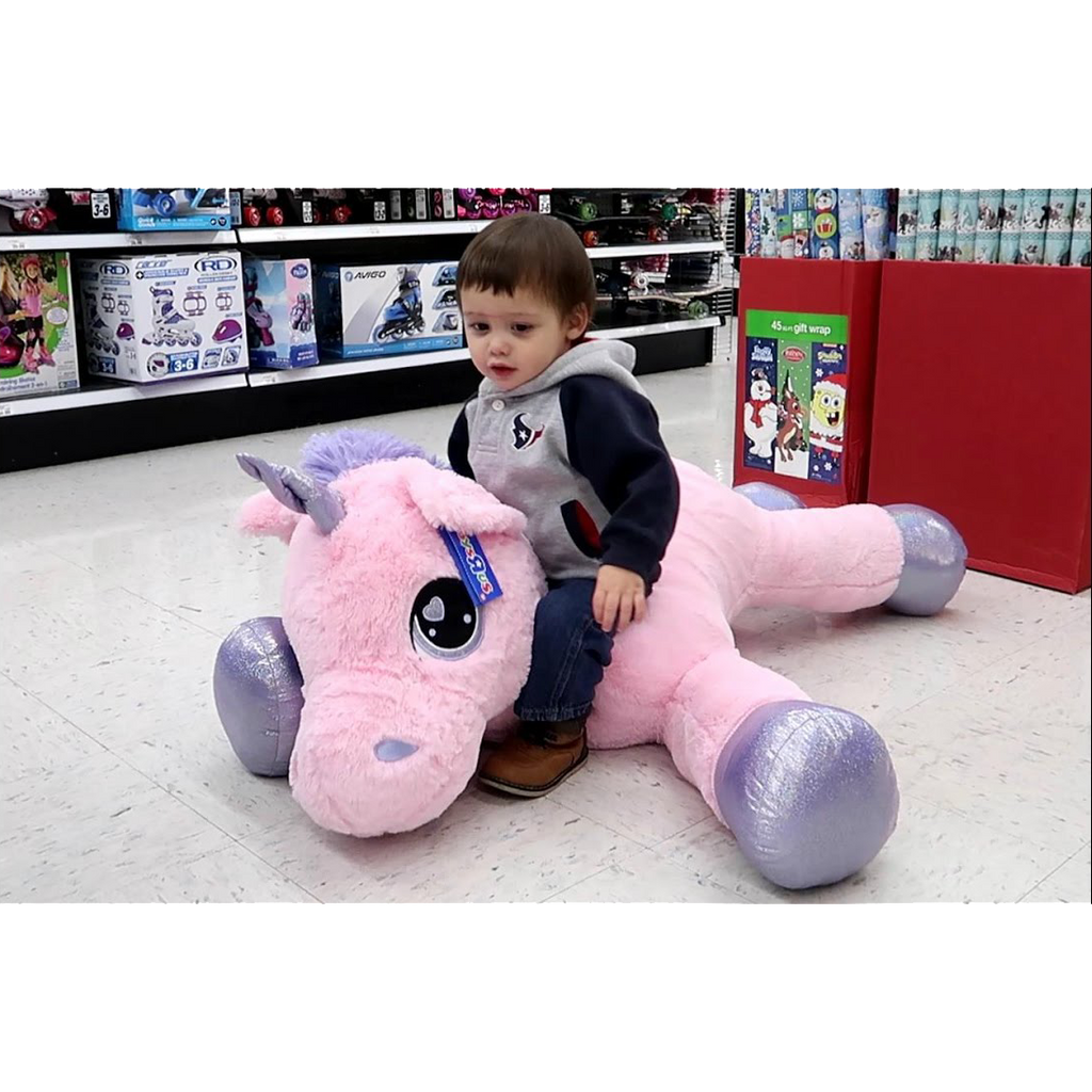 Giant Unicorn Stuffed Animal