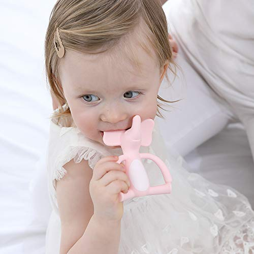 Elephant Teether - Pink | Heccei