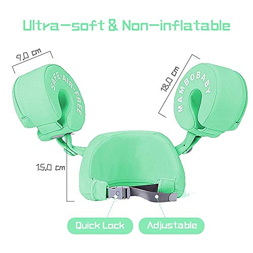 Mambobaby Arm Float - Green | Heccei
