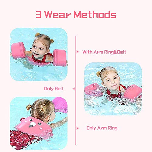 Mambobaby Arm Floaties - Pink | Heccei