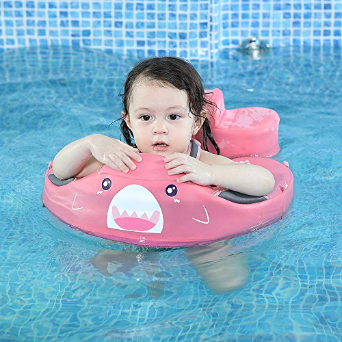 Mambobaby Baby Shark Float with Sun Canopy – Pink (Limited Edition) | Heccei
