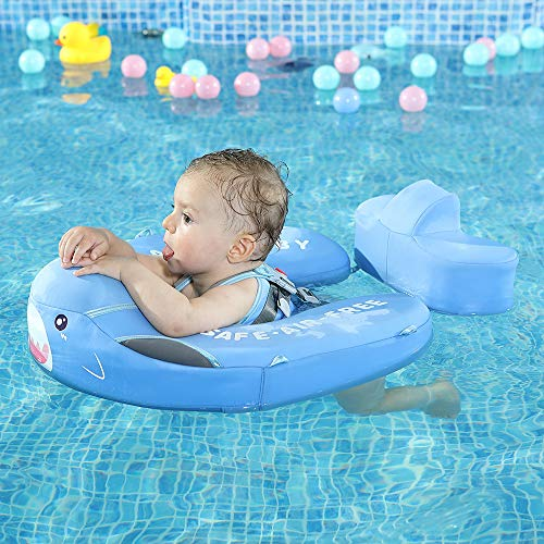 Mambobaby Baby Shark Float with Canopy - Blue | Heccei