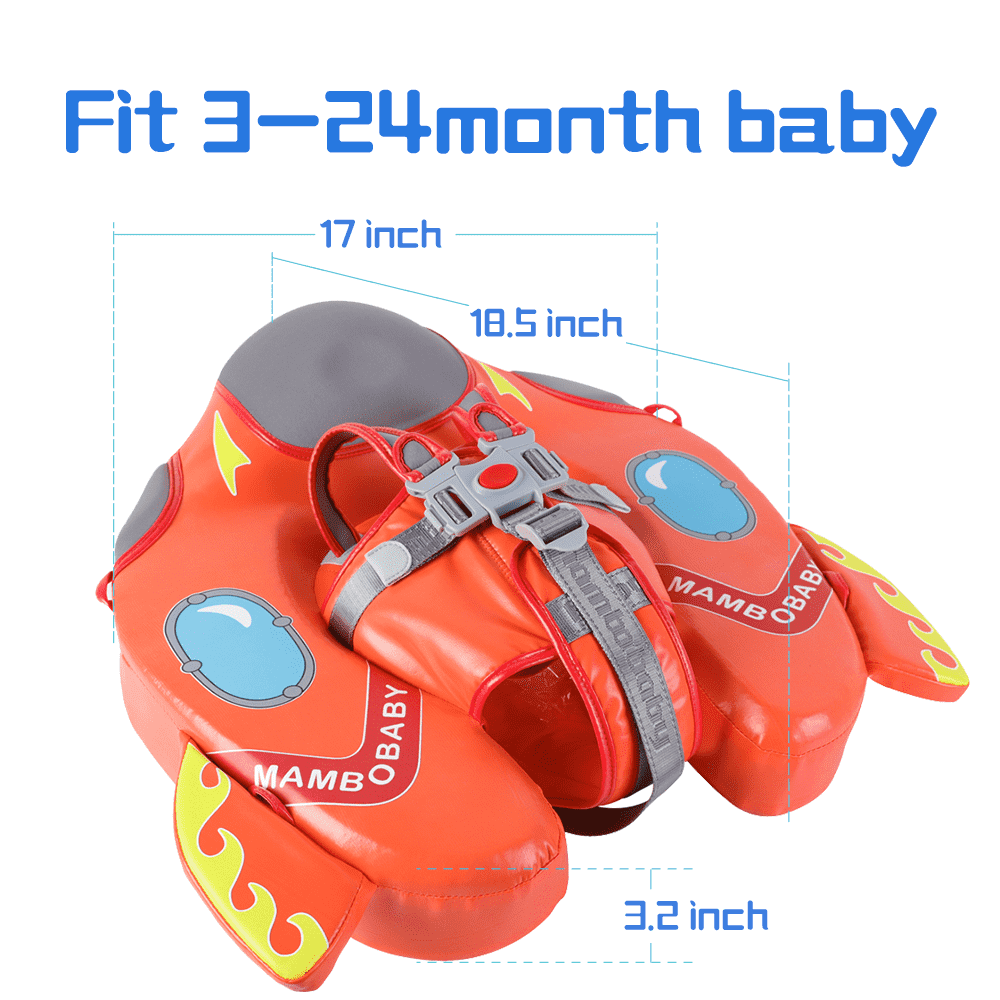 [Special Edition]Spaceship Mambobaby Swim Ring Float(Waterproof skin-friendly leather) | Heccei