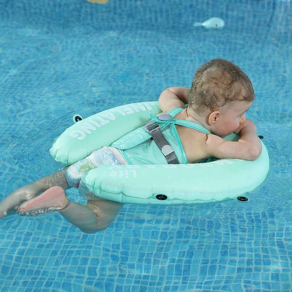 [Lite Edition]Mambobaby Swim Ring Float(Easy Transport) | Heccei