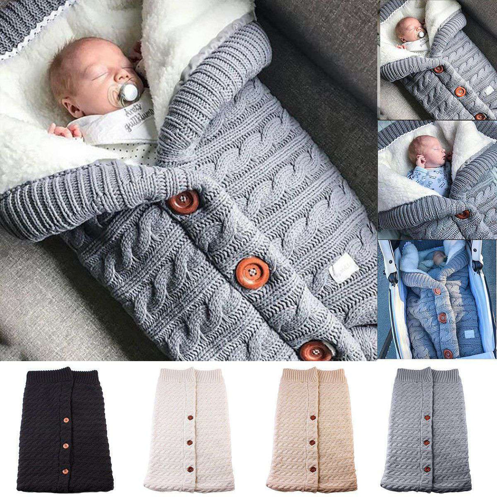Newborn Baby Winter Warm Sleeping Bags | Heccei