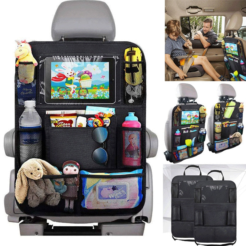 Car Seat Back Organizer Multi-Pocket Storage Bag | Heccei