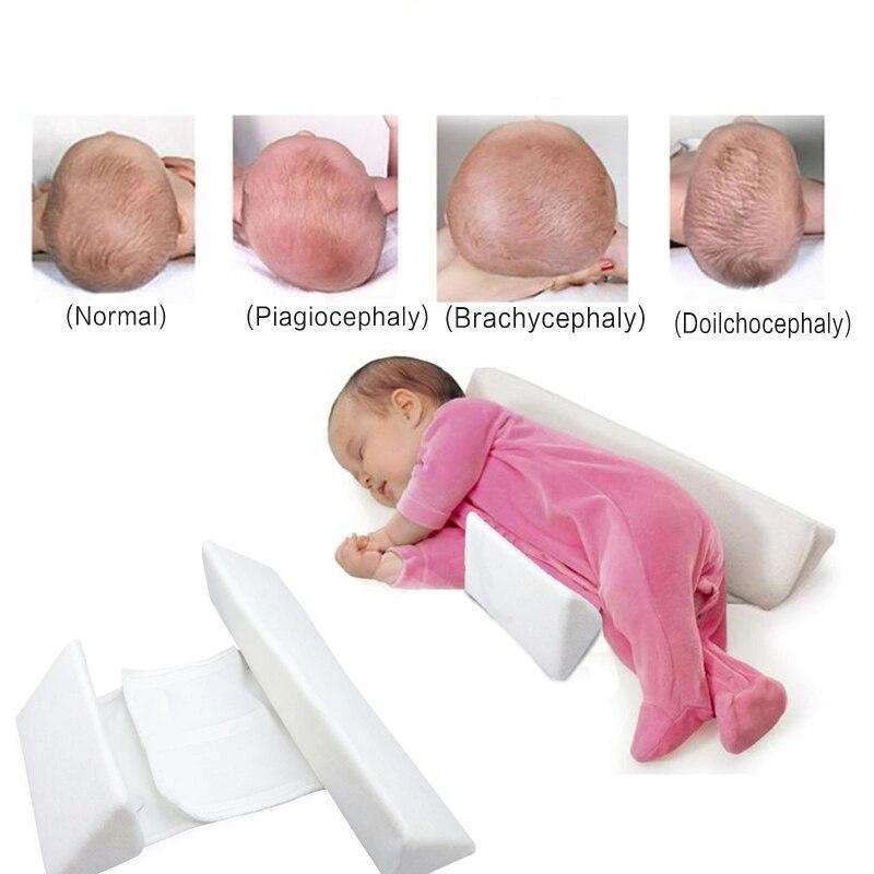 Baby Pillow Adjustable Memory Foam Support Newborn Infant Sleep | Heccei
