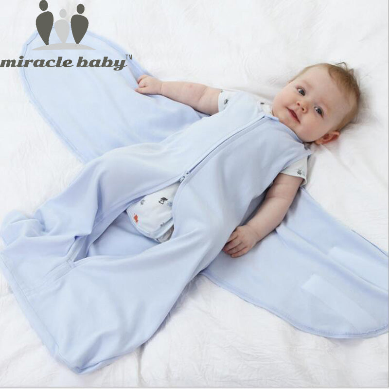 100% Cotton Baby Sleeping Bag  0-6 Months