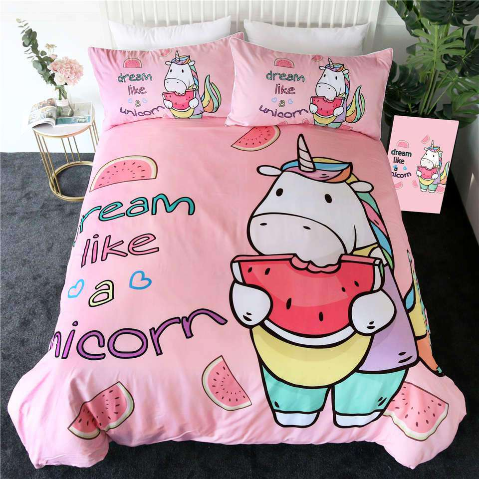 Unicorn Bedding | Heccei