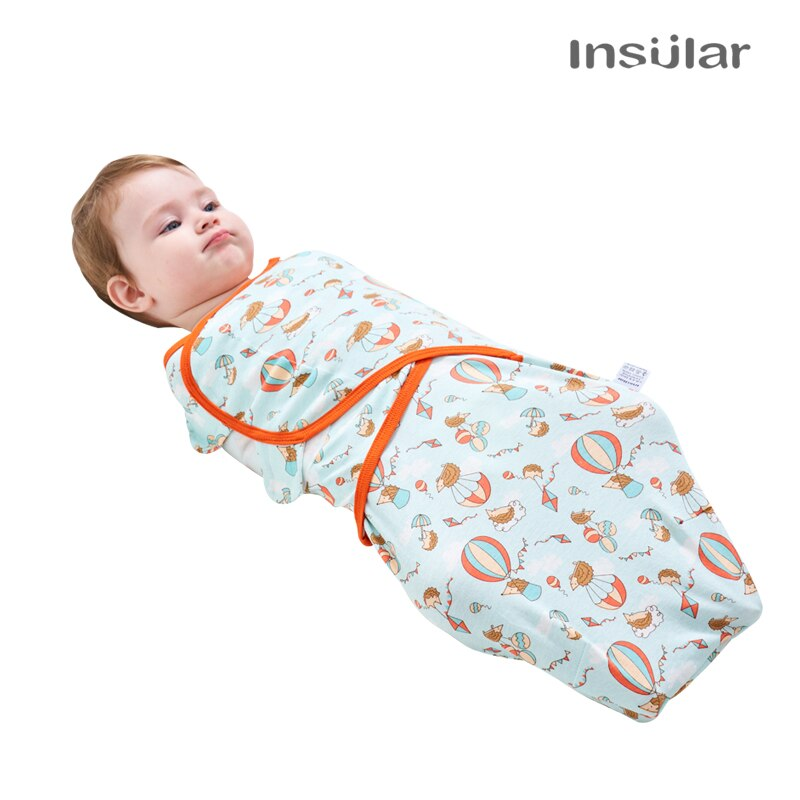 2 pcs/set Baby Sleeping Bag For 0-7 Months